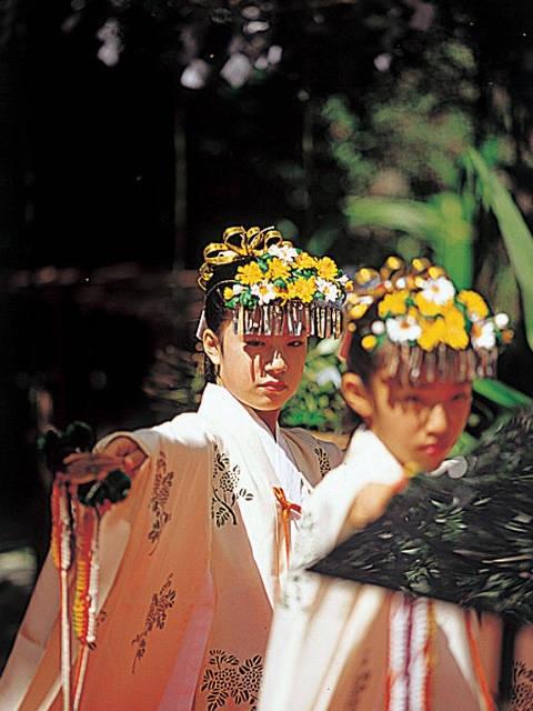 花の窟 御縄掛け神事