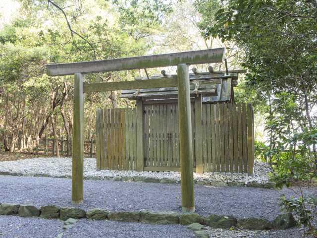 粟皇子神社