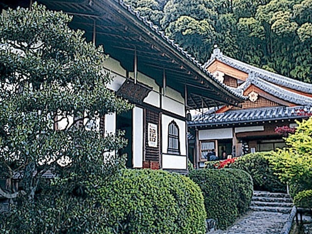華厳寺(鈴虫寺)