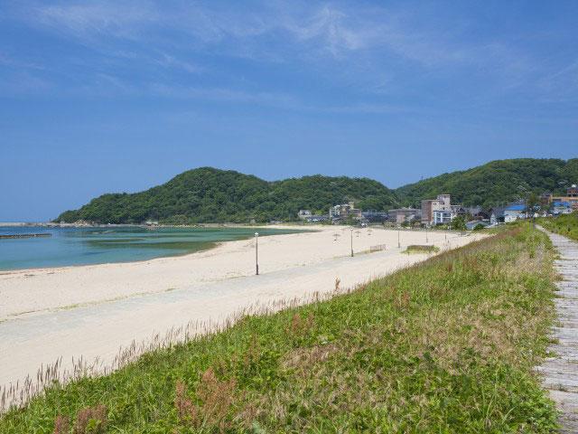 浜詰海水浴場(夕日ヶ浦)