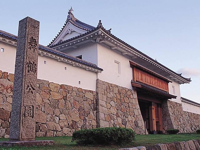 舞鶴公園(田辺城跡・田辺城資料館)