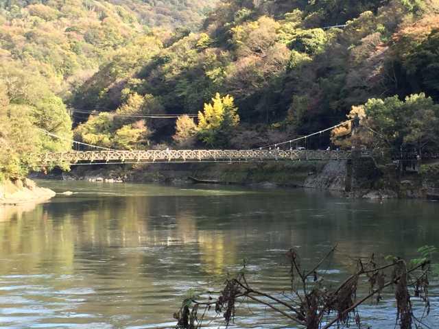 天ヶ瀬吊り橋
