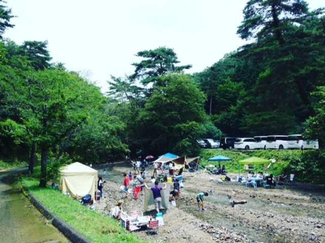 山城町森林公園(キャンプ場)