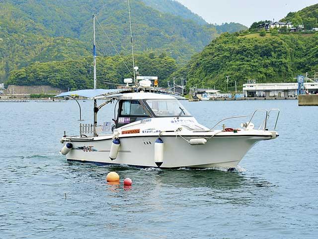 海上タクシー 亀島丸