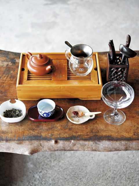 台湾茶専門店 青竈
