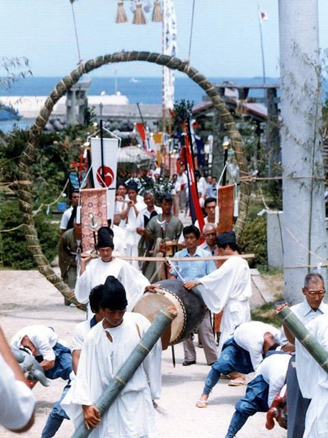 田島神社夏越祭