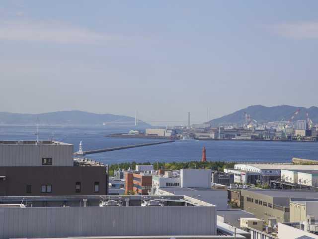 神戸キメックセンタービル展望ロビー