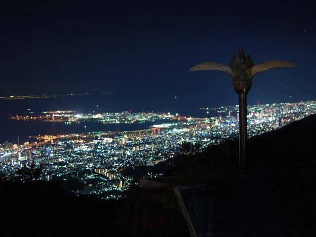 天覧台(六甲山上展望台)