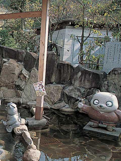 洲本温泉 潮騒の湯 足湯