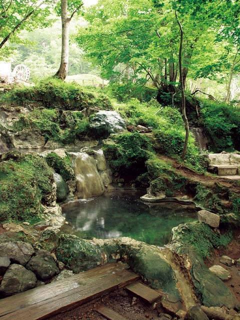 岩尾別温泉露天風呂 三段の湯