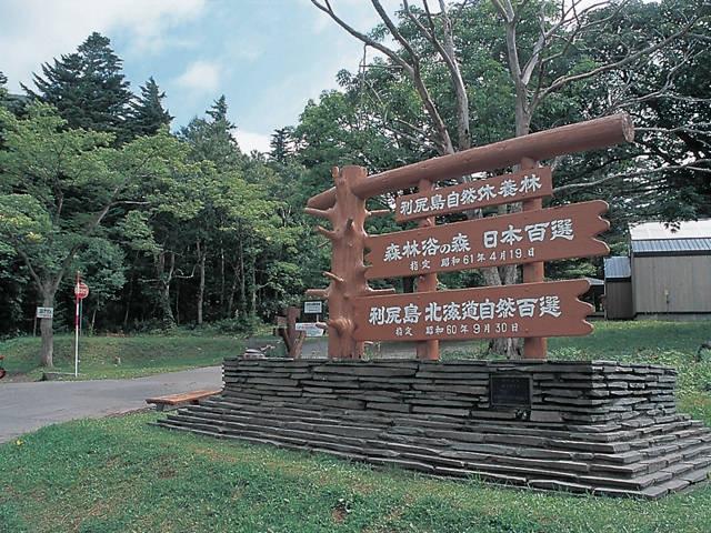 利尻島自然休養林