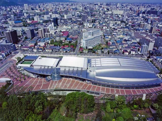 北海道立総合体育センター(北海きたえーる)