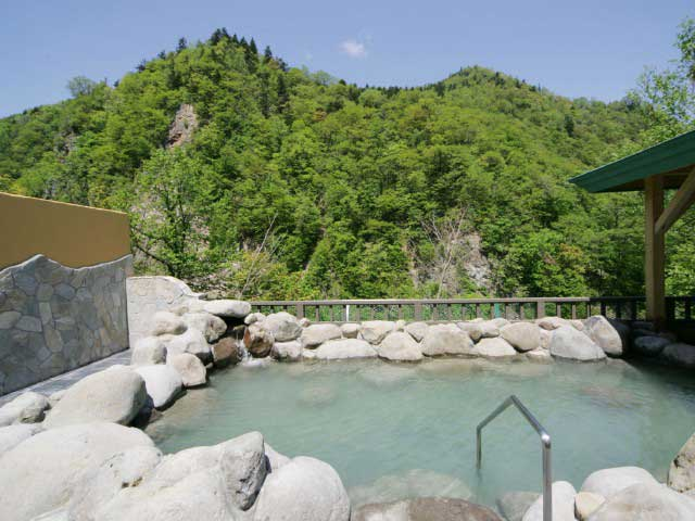 定山渓温泉 湯の花