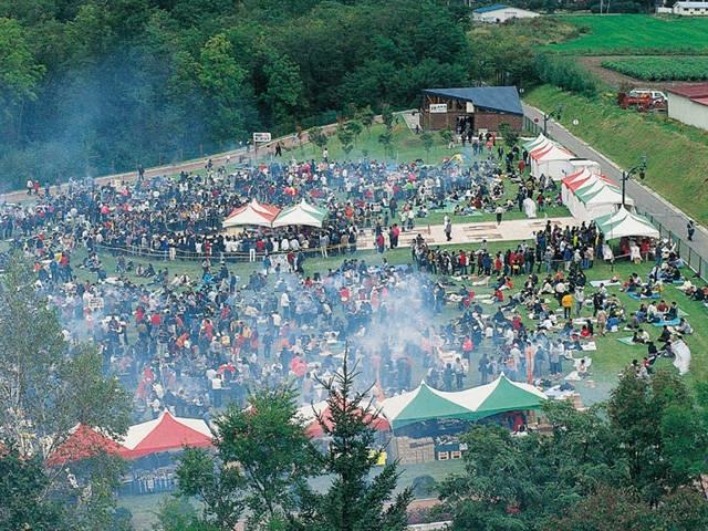 池田町秋のワイン祭り