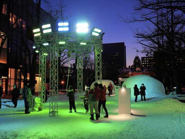 -雪と光のプロジェクト-さっぽろユキテラス