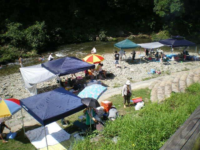 細野渓流キャンプ場
