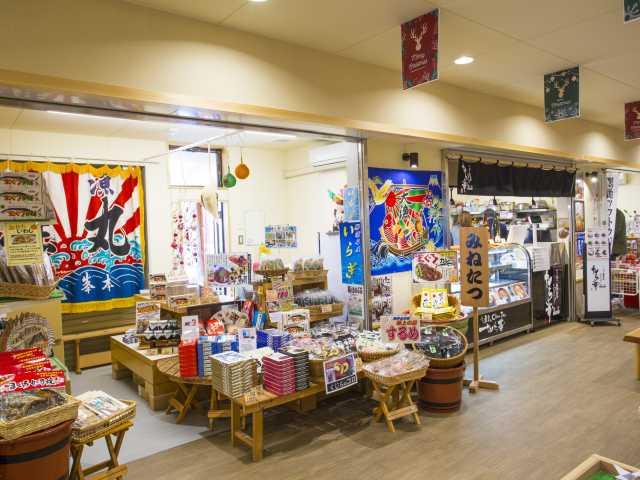 勝浦漁港 にぎわい市場