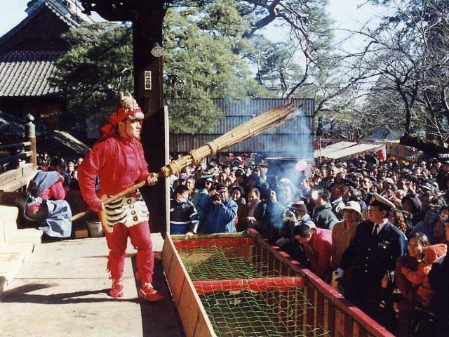 不動ヶ岡不動尊總願寺の節分会