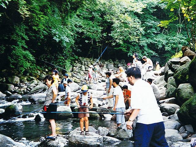 上津江フィッシングパーク(キャンプ場)
