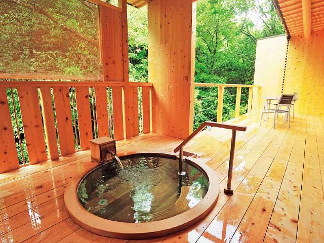 松葉温泉 滝の湯(日帰り入浴)