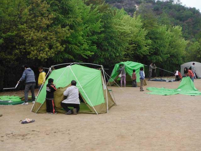 大阪府立少年自然の家(キャンプ場)