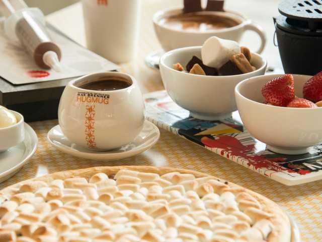 マックス ブレナー チョコレートバー ルクア大阪店