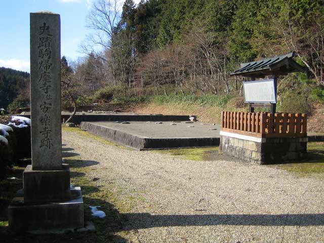 安楽寺廃寺跡