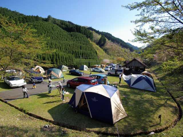 高原 場 曽爾 キャンプ キャンプでっせ!:サンビレッジ曽爾 その1(キャンプ場紹介)
