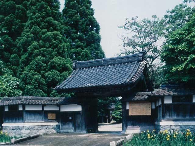 豪農の館 内山邸(国登録有形文化財)