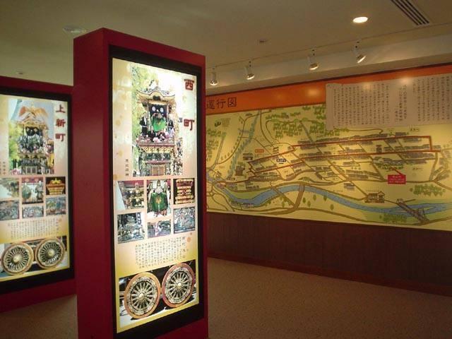 富山市八尾曳山展示館(越中八尾観光会館)