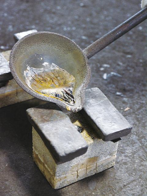 鋳物工房 利三郎(見学)