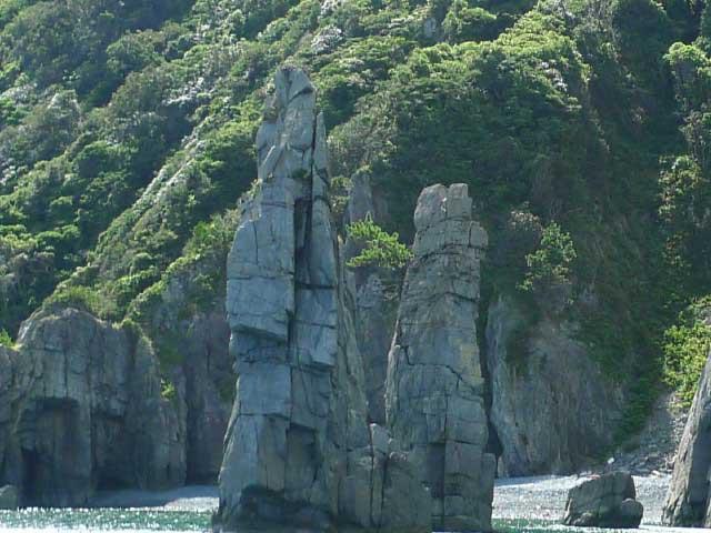青海島 観光汽船