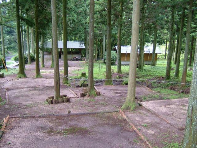 周南市烏帽子岳ウッドパークキャンプ場