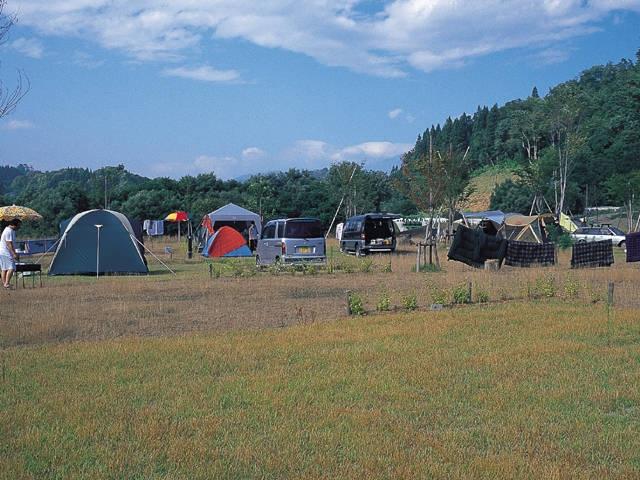 白川ダム湖畔オートキャンプ場