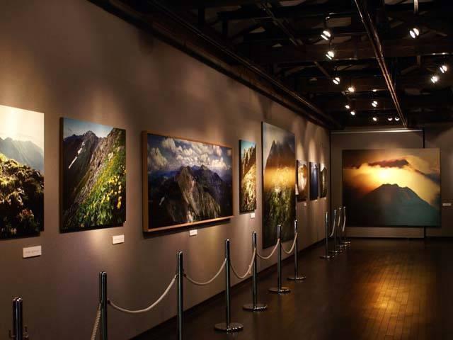 南アルプス山岳写真館白籏史朗記念館