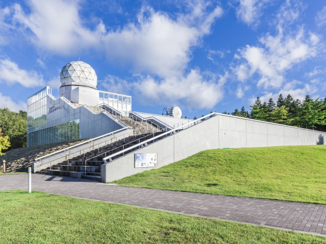 富士吉田市立富士山レーダードーム館