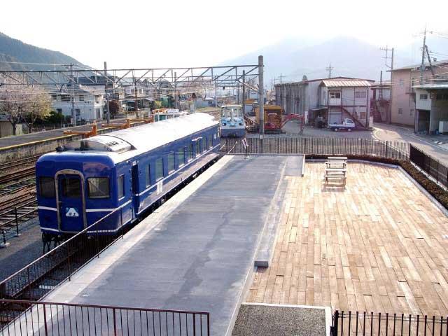 下吉田駅ブルートレインテラス