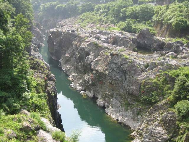 飛水峡(ロックガーデン)