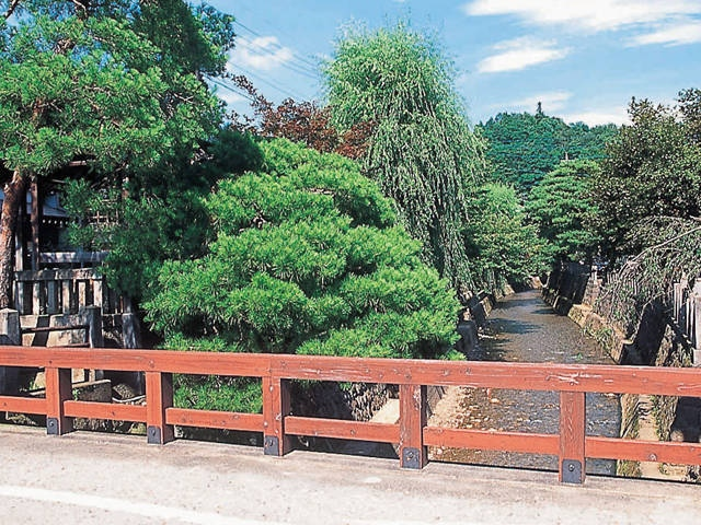 江名子川橋めぐり