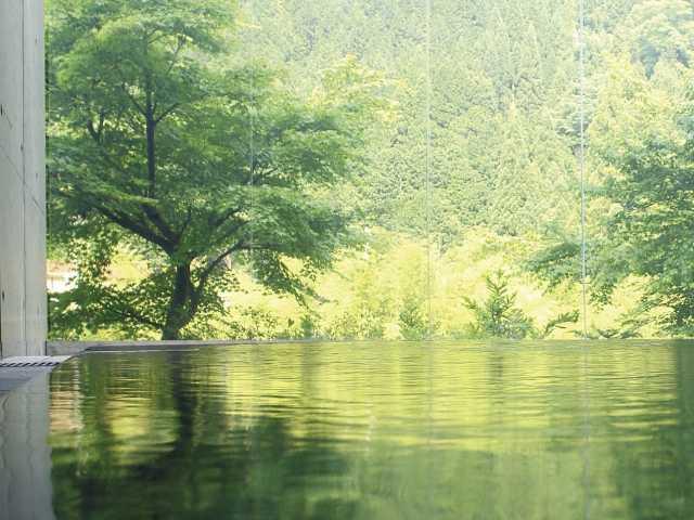 飛騨金山ぬく森の里温泉かれん
