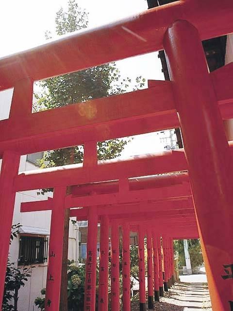 高屋稲荷神社の井戸