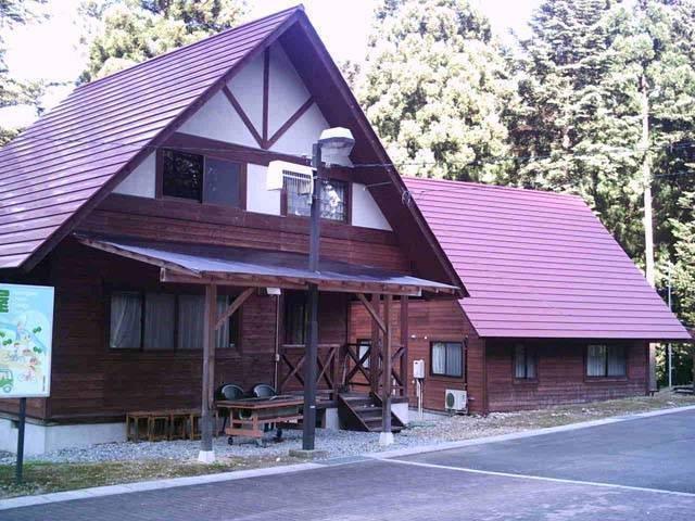 板取川温泉 コテージ湯屋