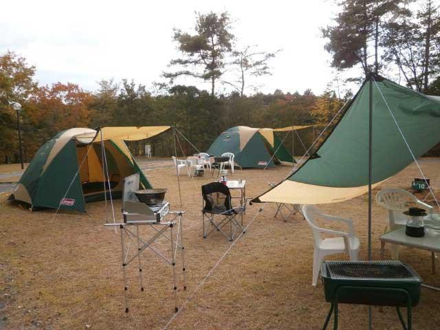 たけべの森公園キャンプ場