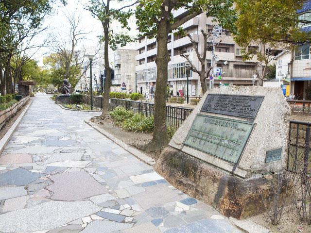 西川緑道公園・枝川緑道公園