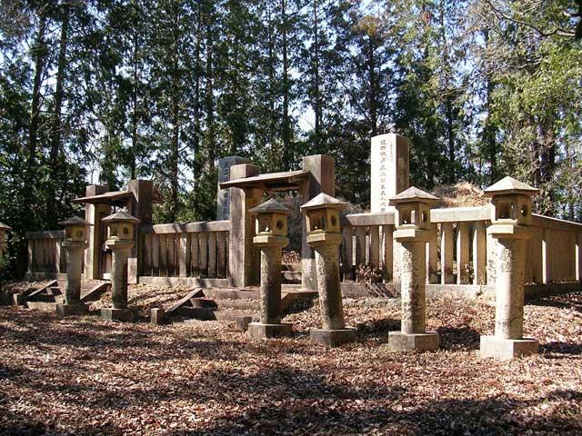 岡山藩主池田家墓所