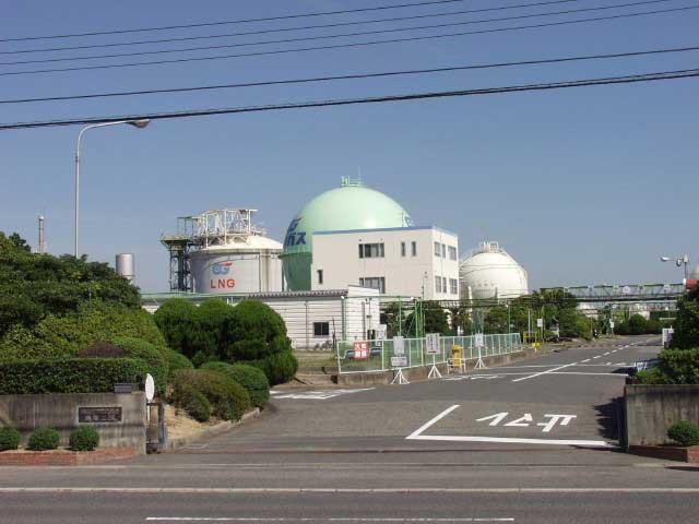 岡山ガス 築港工場(見学)