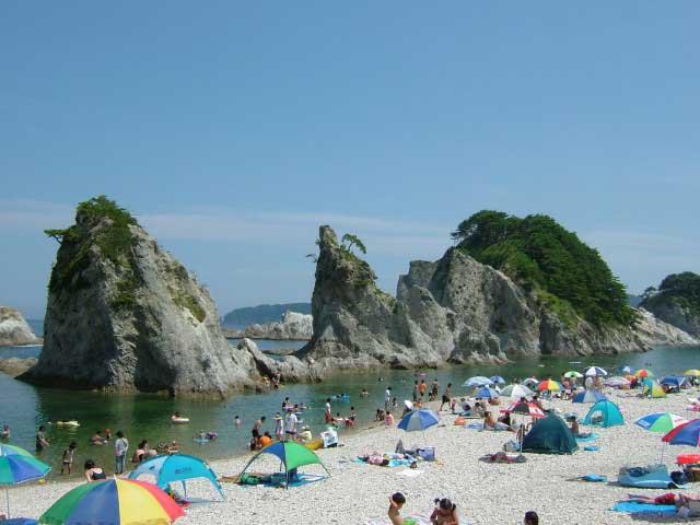 浄土ヶ浜海水浴場