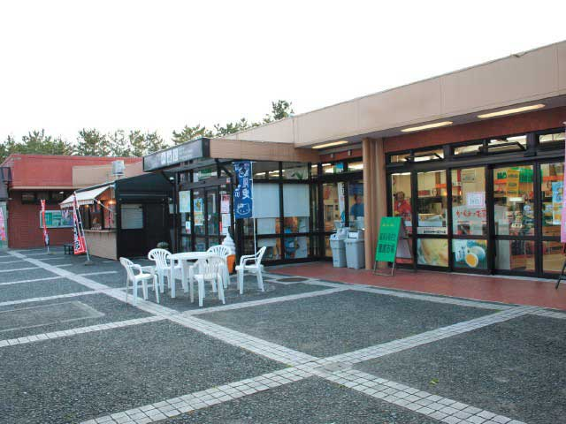 前沢サービスエリア(上り)