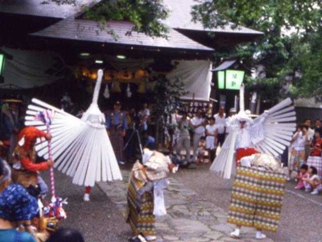弥栄神社祇園祭(鷺舞神事)