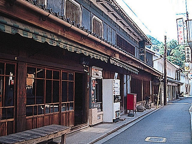 音戸の古い町並み